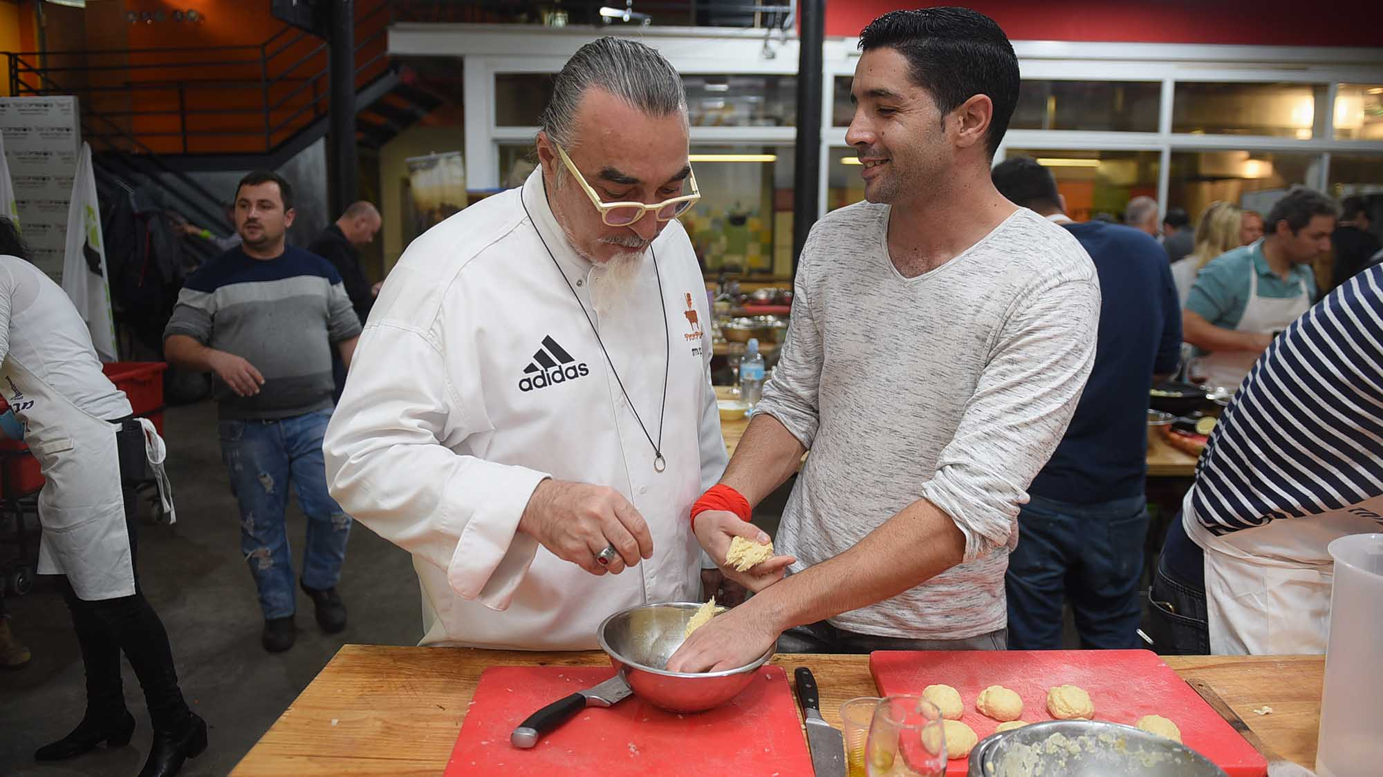 משחק Top Chef לומדים להכין אוכל