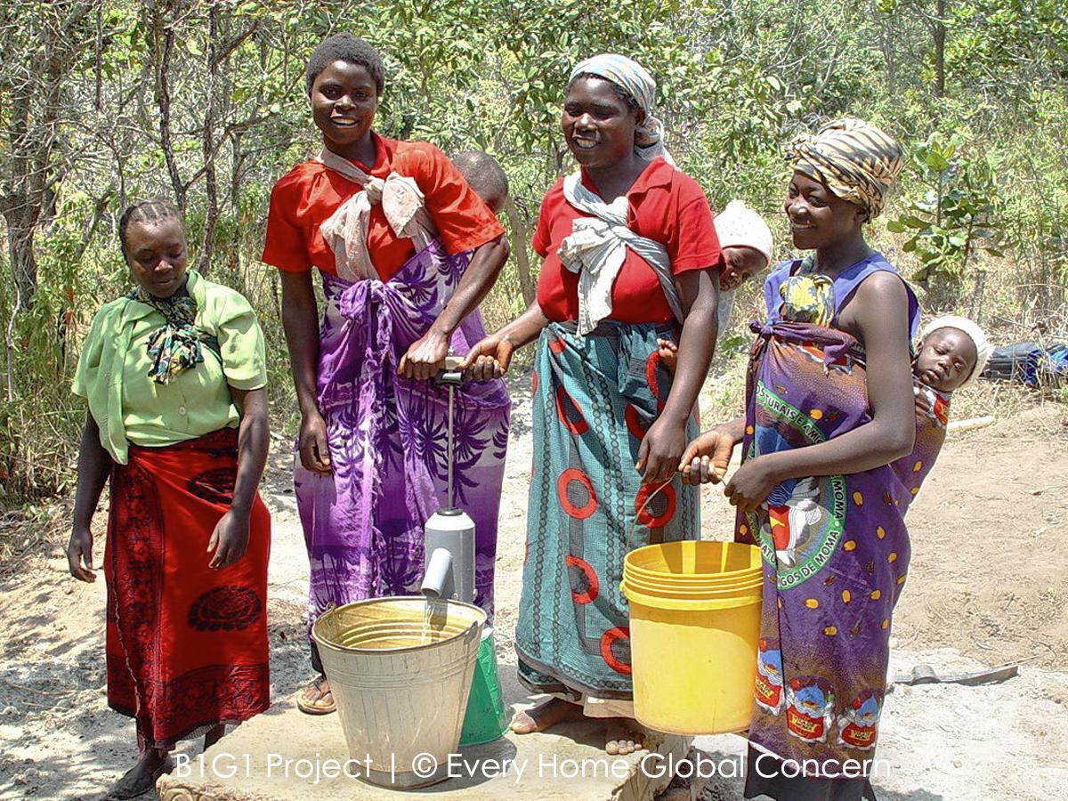 תרומה לקהילה ולעולם Give Access to Life Saving Water 2