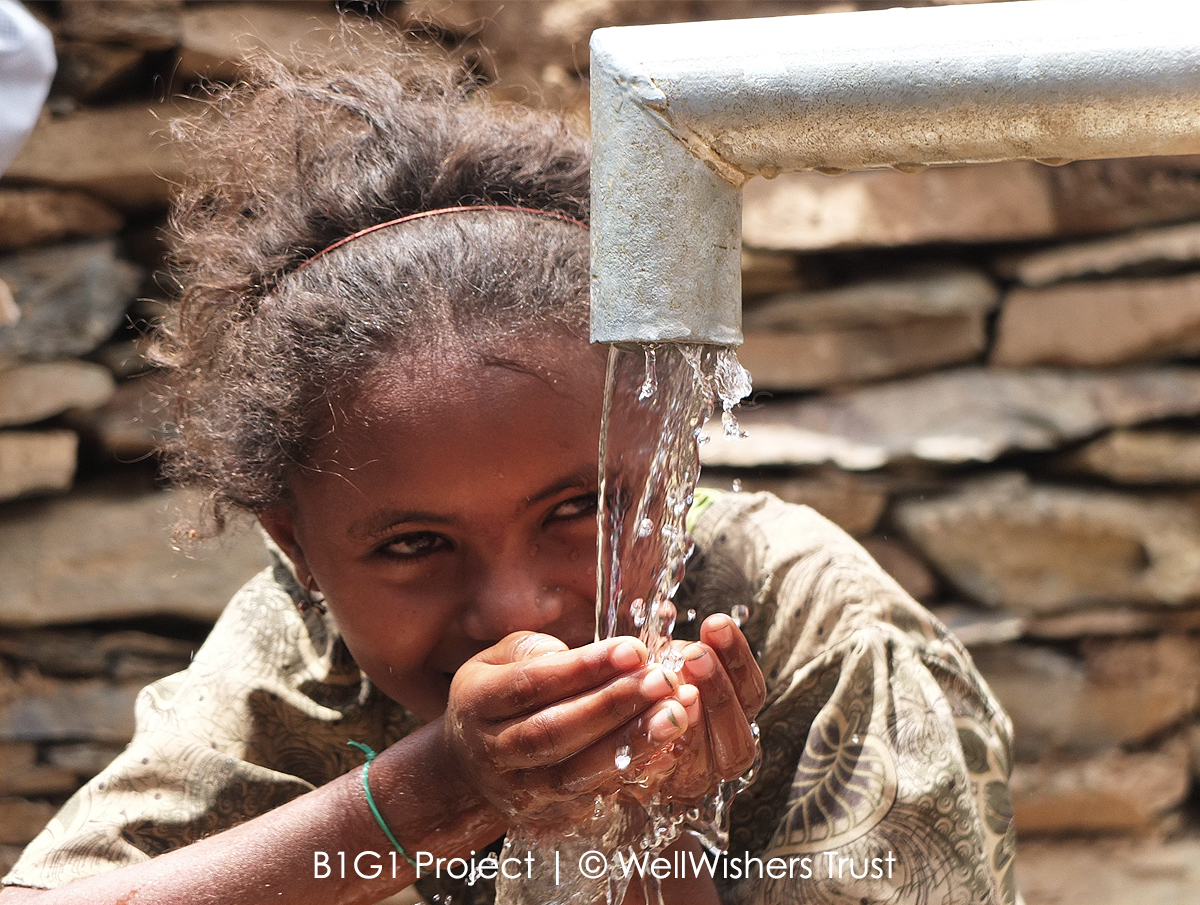 תרומה לקהילה ולעולם Give Access to Life Saving Water