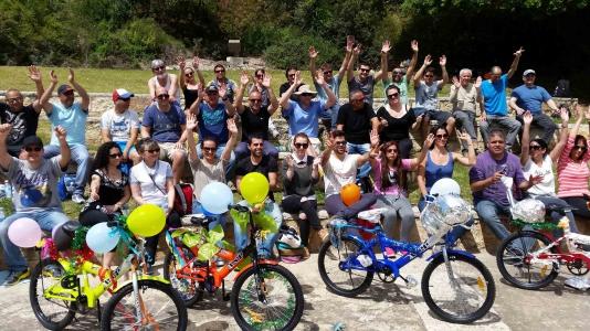 bicycle challenge - נתינה וסיפוק אדיר