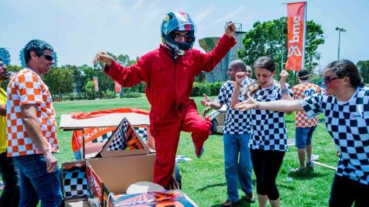 Formula 1 - עבודת צוות