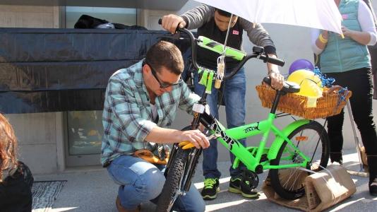 bicycle challenge - בונים אופניים