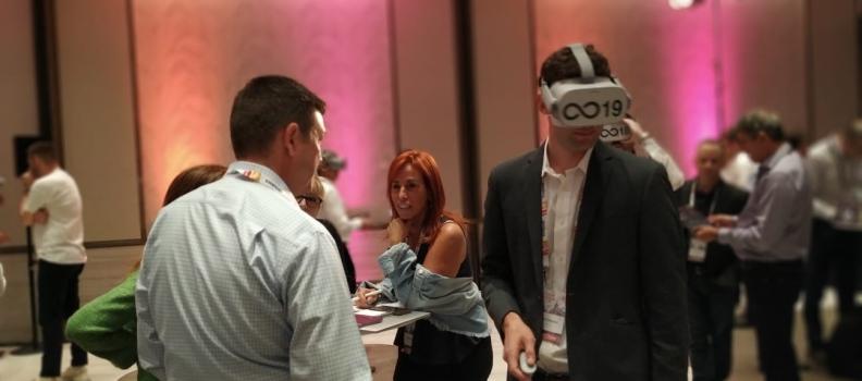 העולם הווירטואלי של Challenge פוגש את Amdocs בכנס שותפים בכירים במדריד.